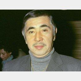 俳優の若山富三郎氏(C)共同通信社