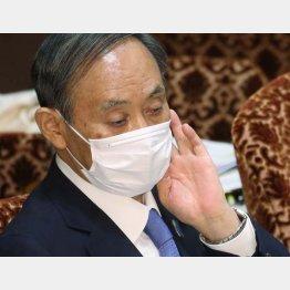 """菅首相の答弁に""""物言い""""!(C)日刊ゲンダイ"""