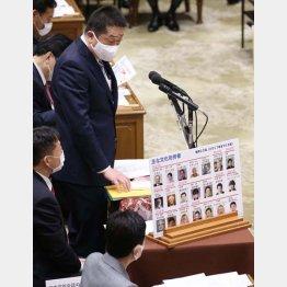 8億円の年金を問題視(本多衆院議員)/(C)日刊ゲンダイ