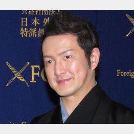 中村獅童は「48歳で夢がかなった」と(C)日刊ゲンダイ