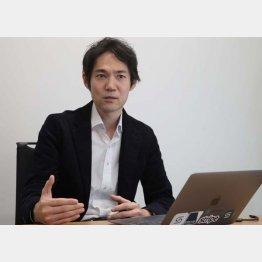 クラウドキャストの星川高志社長(C)日刊ゲンダイ