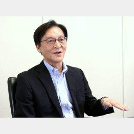 東京商工リサーチの友田信男氏(C)日刊ゲンダイ