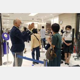 デパートの催事には熱心なファンが多い(伊勢丹 新宿店)/(C)共同通信社