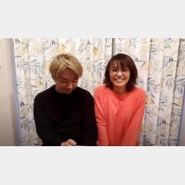 フリーアナウンサーの小林麻耶(本人のユーチューブから)