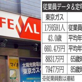 東京ガスと大阪ガス 冬本番で需要増の都市ガス大手を比較
