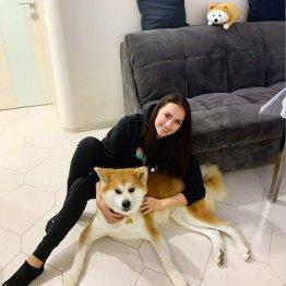 ザギトワの愛犬マサルが大きく!インスタ7カ月ぶり登場