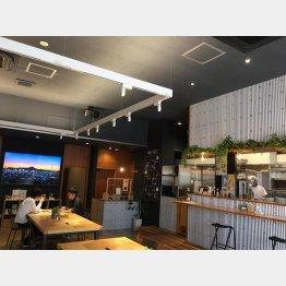 LAC津山のカフェ(提供写真)