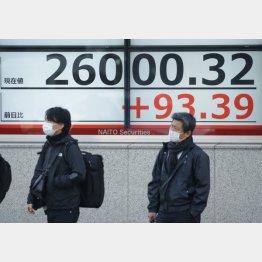 株高はいつまで続く?(C)日刊ゲンダイ