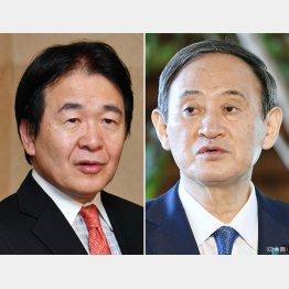 冷酷な本質が剥き出しになる(菅首相と竹中平蔵氏)(C)日刊ゲンダイ