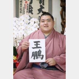 祖父から1文字拝借(日本相撲協会提供)