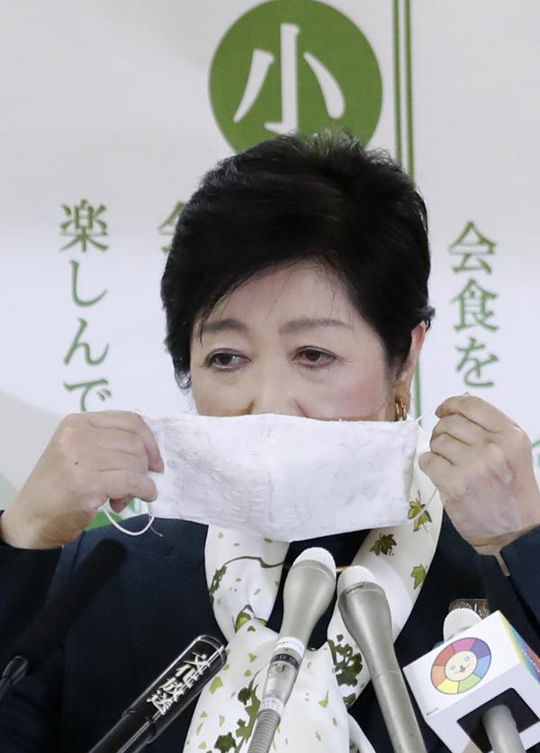 会見中、イラつきを抑えられない小池百合子都知事(C)日刊ゲンダイ