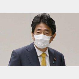 安倍前首相、25日の会合で「桜疑惑」については語らず(C)日刊ゲンダイ