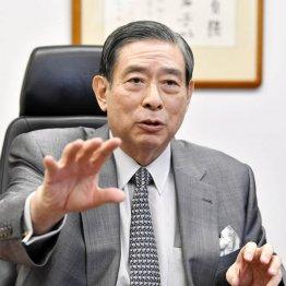 SBIホールディングスの北尾吉孝社長(C)共同通信社