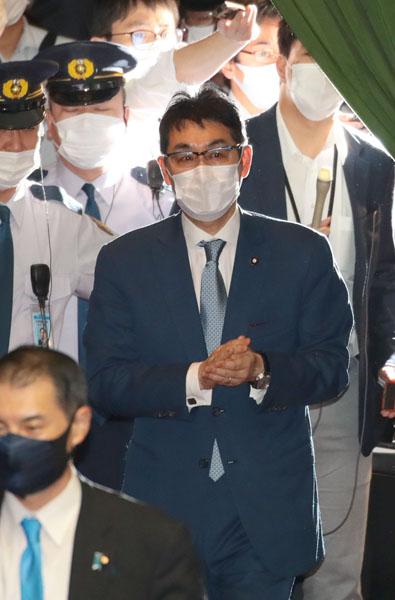 証言に注目(河井克行被告)/(C)日刊ゲンダイ