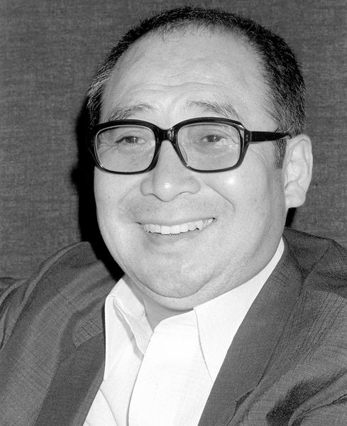 俳優、料理研究家の金子信雄氏(C)共同通信社