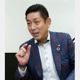 ネクステージグループの佐々木洋寧社長(C)日刊ゲンダイ