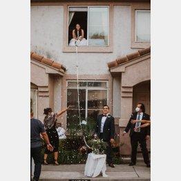 パトリック・デルガードさんとローレンさんの結婚式(ジェシカさんのフェイスブックから)