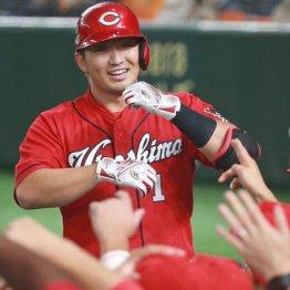 広島誠也のMLB挑戦は来オフ 球団野手最高年俸からの青写真