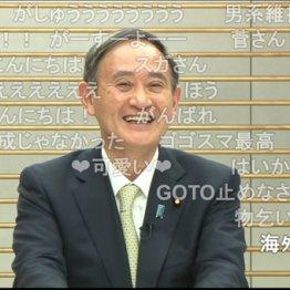 """菅首相""""スマイル全開""""でスカスカ…ニコ生で薄ら笑いの本心"""