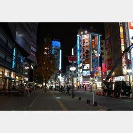 繁華街はどんどん寂しく…(東京 新宿・歌舞伎町)/(C)日刊ゲンダイ