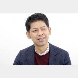 「社長になって自分の給料を減らしました」と山﨑一史さん(C)日刊ゲンダイ