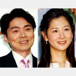 NHKの高瀬耕造、桑子真帆両アナウンサー(C)日刊ゲンダイ