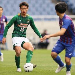 高校サッカー 青森山田MF松木玖生は「柴崎2世」になれるか