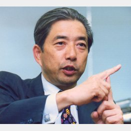 ウェザーニューズ創業者の石橋博良氏(C)共同通信社