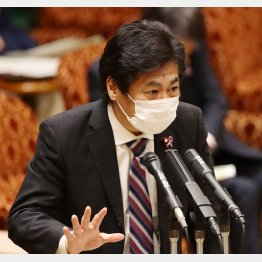 田村厚労相もワクチンに前のめり(C)日刊ゲンダイ