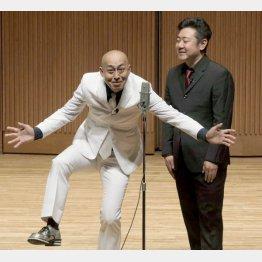 錦鯉の長谷川雅紀さん(左)と渡辺隆さん(C)ソニー・ミュージックアーティスツ