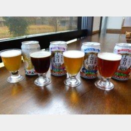 北陸新幹線の開業5周年を記念したビールも(C)日刊ゲンダイ