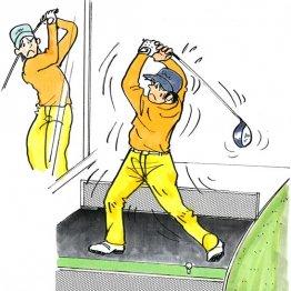 「深いトップ」づくりはリスク大 体と腕の一体感が大事