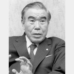 丸田芳郎・花王石鹸会長(1981年)/(C)共同通信社