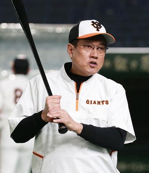 セの戦いは眼中にない原監督(C)日刊ゲンダイ