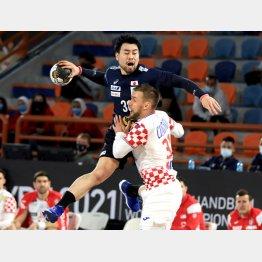 クロアチア戦は試合終盤までリード(C)ロイター
