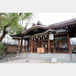 サムハラ神社はオフィス街にある(C)日刊ゲンダイ