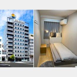 創業は1987年。シングルは3畳の広さのホテルサンプラザ(提供・株式会社JUNON)