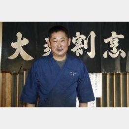 「大衆割烹 大菊」の大羽昌美さん(C)日刊ゲンダイ