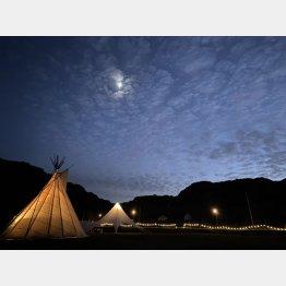 ヴィレッジインクのキャンプ場(提供写真)