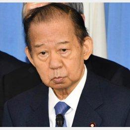 二階俊博幹事長(C)日刊ゲンダイ