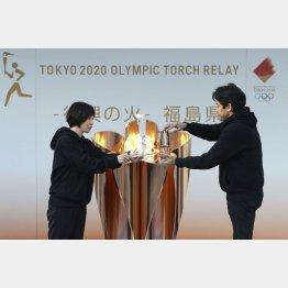 3月25日、福島からスタートするが…(写真=2020年3月)/(C)共同通信社