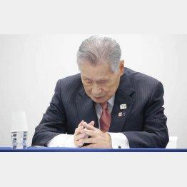 12日には組織委で臨時会合が開かれるが…(森喜朗組織委会長)/(C)日刊ゲンダイ