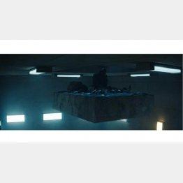 映画「プラットホーム」/(C)BASQUE FILMS, MR MIYAGI FILMS, PLATAFORMA LA PELICULA AIE