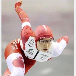 女子500メートルで優勝した小平奈緒(代表撮影)