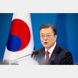 韓国の文在寅大統領(C)ロイター