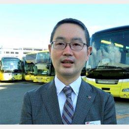 「はとバス」広報室課長の山本雄太さん(C)日刊ゲンダイ