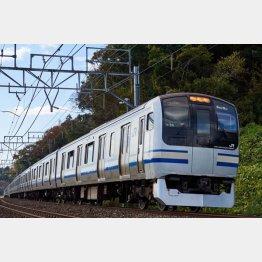 横須賀線、湘南新宿ラインで都心まで1時間程度