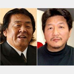 ユーチューバーとして人気が出始めてきた長州(左)と前田