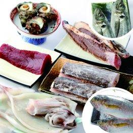豪華な鮮魚ボックスを配布(提供写真)