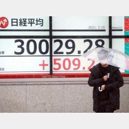 コロナ禍に3万円を突破(C)日刊ゲンダイ